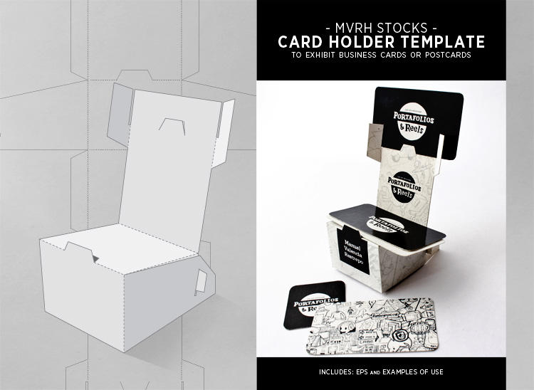 Display business cards templates 28 images 4 designer business display business cards templates by card holder template by mvrh on deviantart friedricerecipe Images