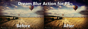 Photoshop Dream Blur Action by JoshJanusch