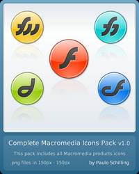 Complete Macromedia Icons v1.0