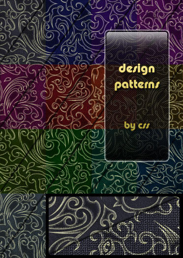 Design patterns for Photoshop by css0101
