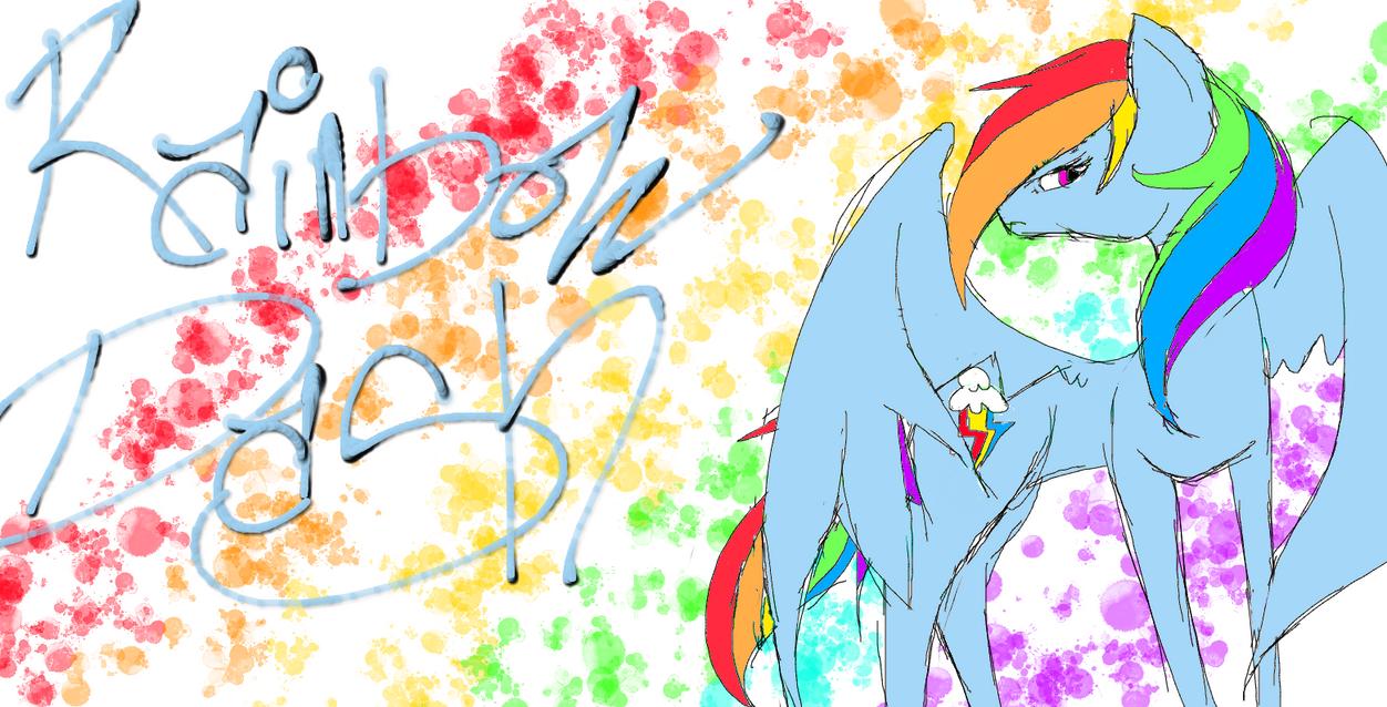 Rainbow dash by hotaru365