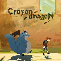 Crayon Dragon by Danman87