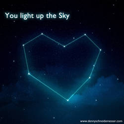 You Light up the Sky