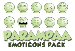 Parampaa Emoticons by oufve