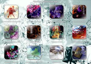 Touhou Dock Icon Set