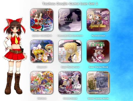 Touhou Doujin Game Icon Set 1