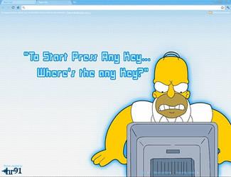 Homer by hr91