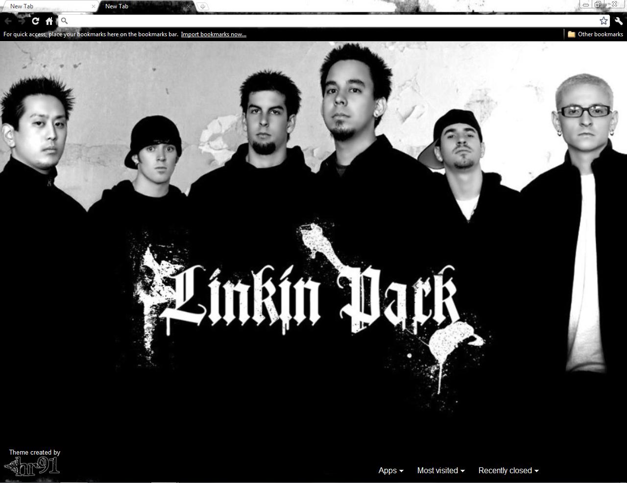 Google themes linkin park - Linkin Park By Hr91 Linkin Park By Hr91
