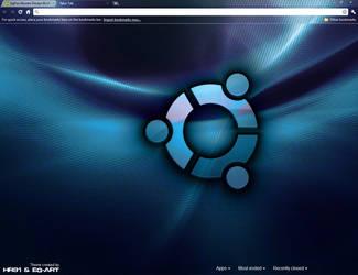 Ubuntu Design BLUE Eg-Art by hr91