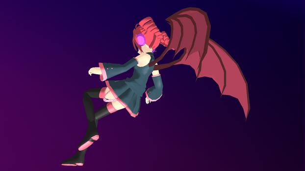MMD - Teto's Chimera Wings -DL-