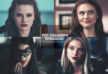 Dangerous Girls PSD Coloring #5 by EnterDiamond