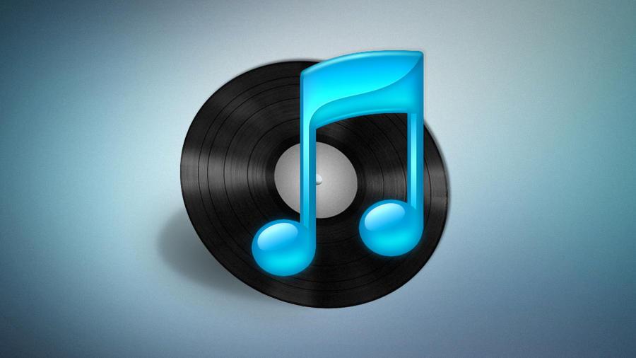 iTunes Vinyl Icon by Vma5