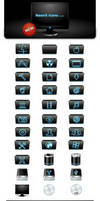 NeonX Icons for Mac OS X