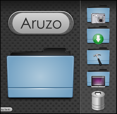 Aruzo Dark Blue by sa-ki