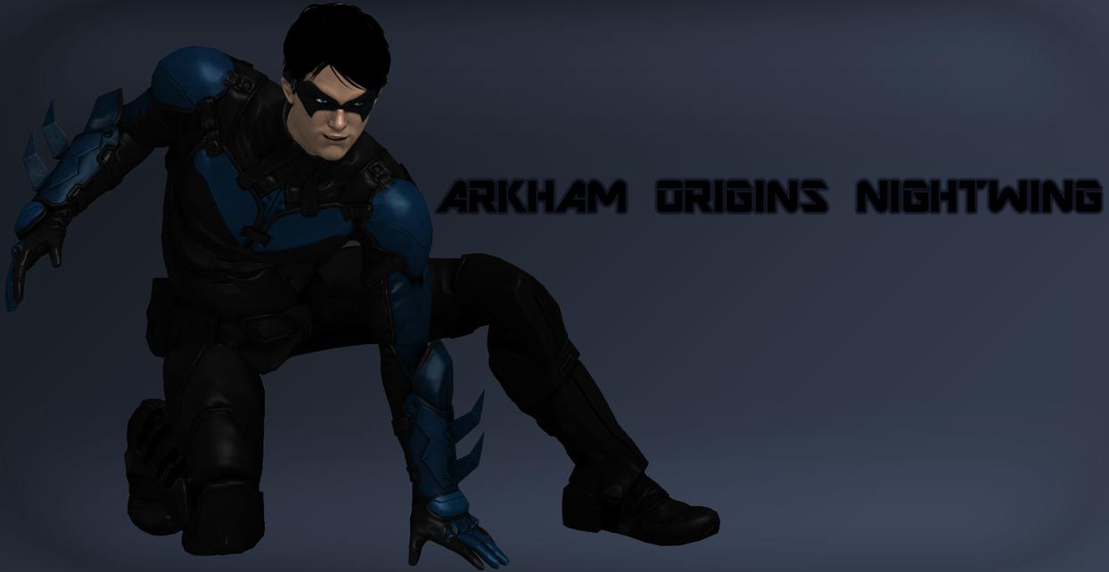Origins- Nightwing by MaZaddah