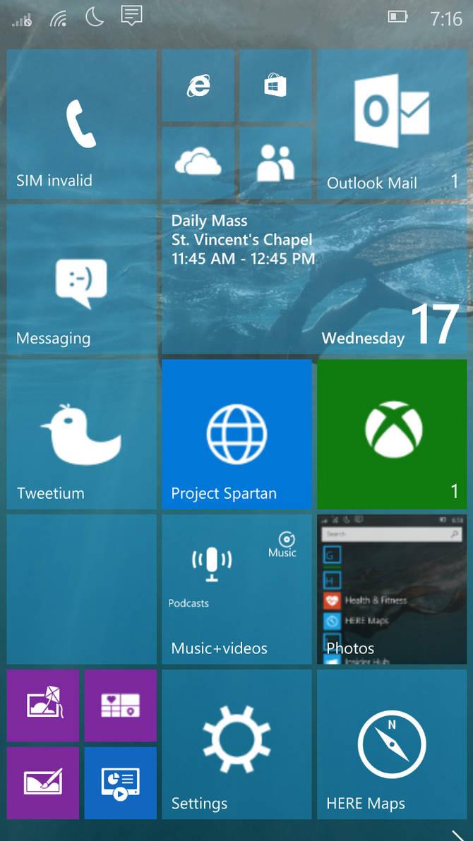 Windows 10 Mobile Nokia Theme by JimmyRangelEchidna on DeviantArt