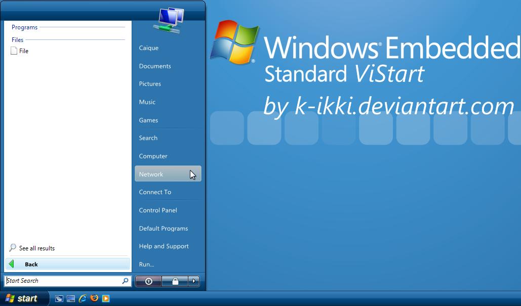 ViStart Embedded (English) by K-Ikki