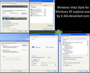 Vista Style for XP explorer EN by K-Ikki
