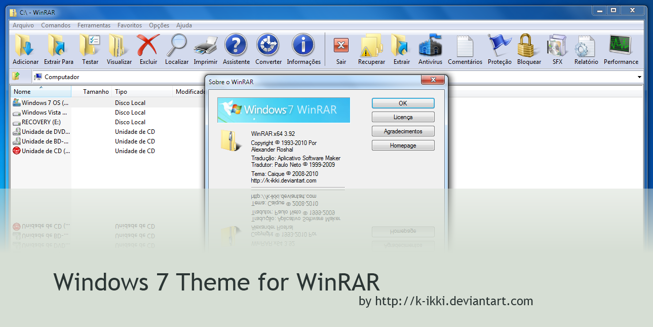 Download winrar for windows 10 (64 bit / 32 bit) for free.