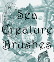 Sea Creature Brushes PS7 by bextcstock