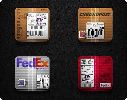 Speed Post Services Pack - Jaku theme iPhone/iPod
