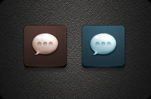 SMS icon - Jaku iOS theme for iPhone/iPod Touch by iGeriya