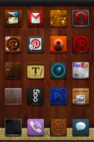 Jaku Homemade Icons Package v2.0 + Wallpaper - iOS by iGeriya
