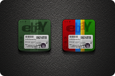 Ebay Icons - Jaku iOS theme on iPhone/iPod by iGeriya on