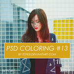 Psd Coloring 13 by Itsyesi