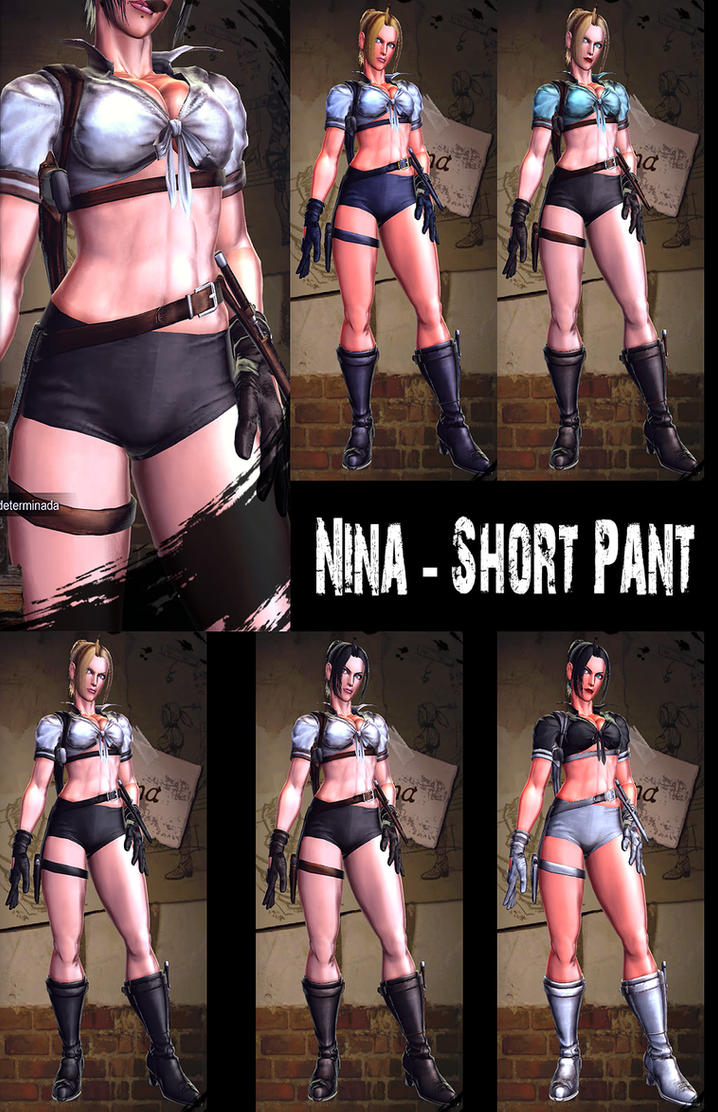 Nina Williams - Short Pant v2 - MOD - SFxTK by somebody2978