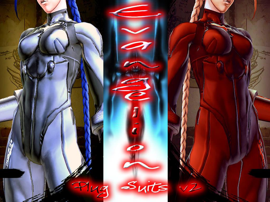 Cammy - Plug Suits Evangelion v2 - MOD - SFxTK by somebody2978