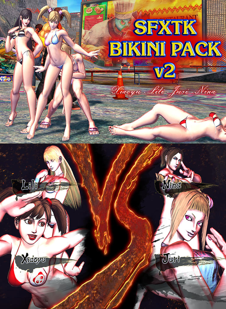 Bikini Pack v2 - MOD - SFxTK by somebody2978