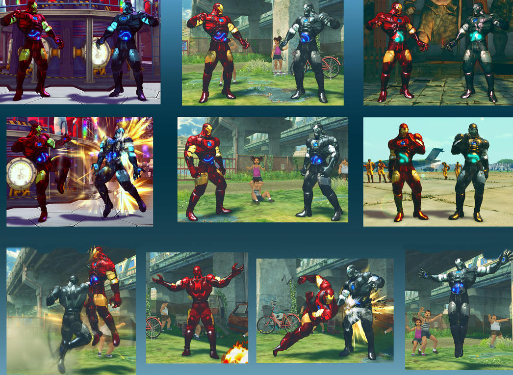 Seth - Iron Man - Ported MOD - SSF4AE by somebody2978