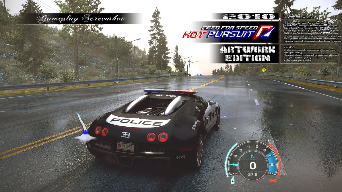 NfS: Hot Pursuit (2010) Artwork Edition (2013) MOD by somebody2978
