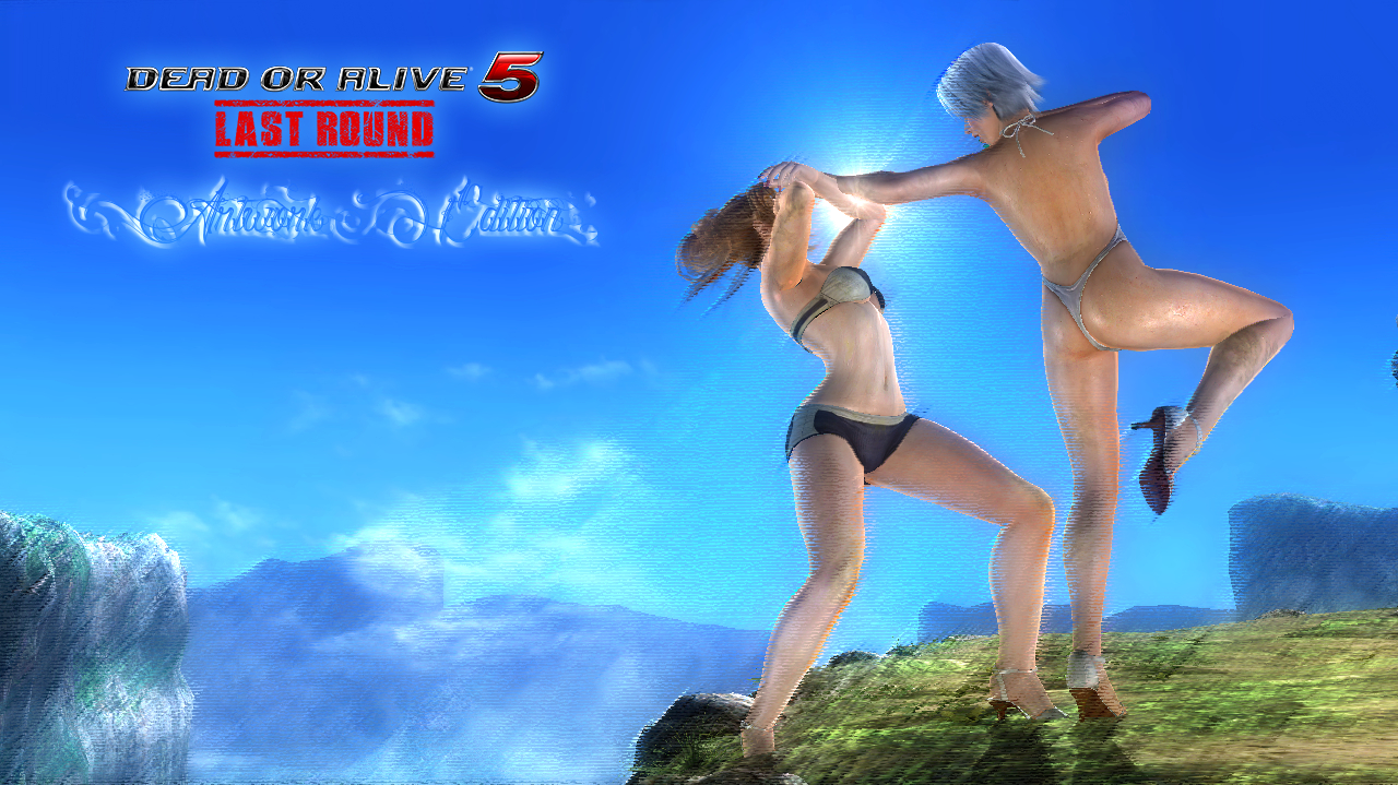 Dead or Alive 5 Last Round - Artwork Edition by somebody2978
