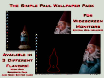 Simple Paul Wallpaper Pack by technoturtle