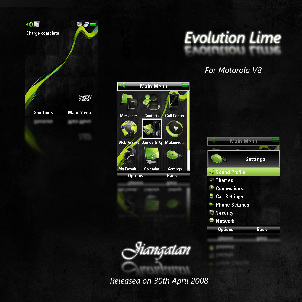Evolution Lime by Jiangatan