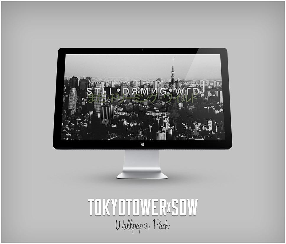 TOKYOTOWERxSDW by BIG-bone