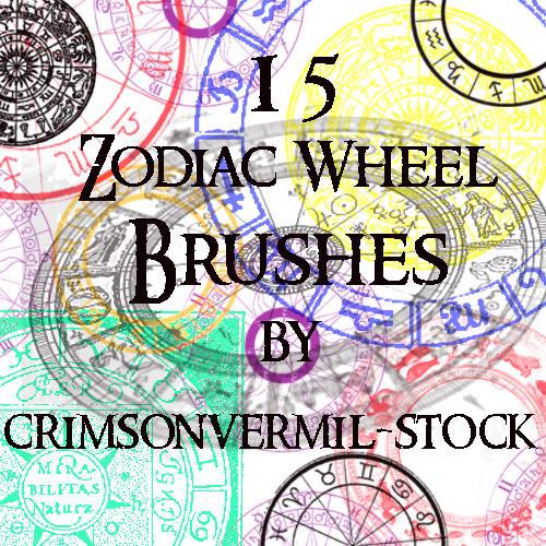 Zodiac Wheels by crimsonvermil-stock