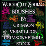 Zodiac Antique Woodcuts