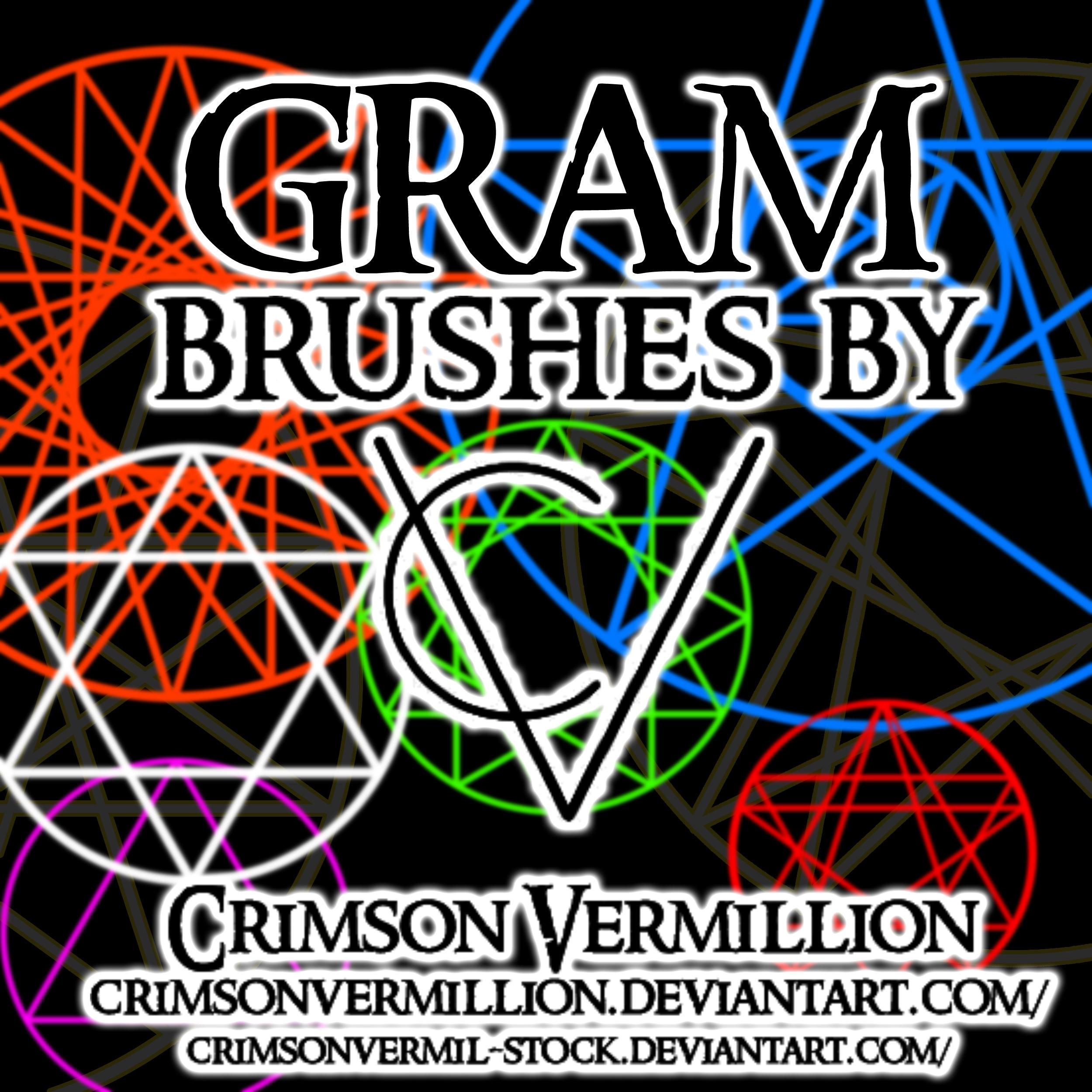 Gram Brushes by crimsonvermil-stock