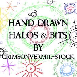 Hand Drawn Halos and Bits