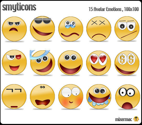 Smyticons by Mackero