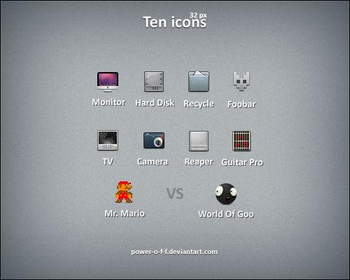 Ten Icons