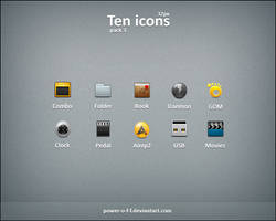 Ten icons pack3 by Power-O-F-F