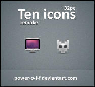 Ten Icons remake by Power-O-F-F