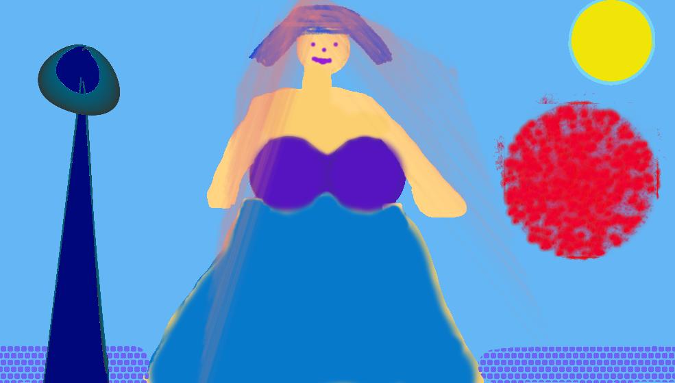 woman on planet arjantariausia by arjantanisia111