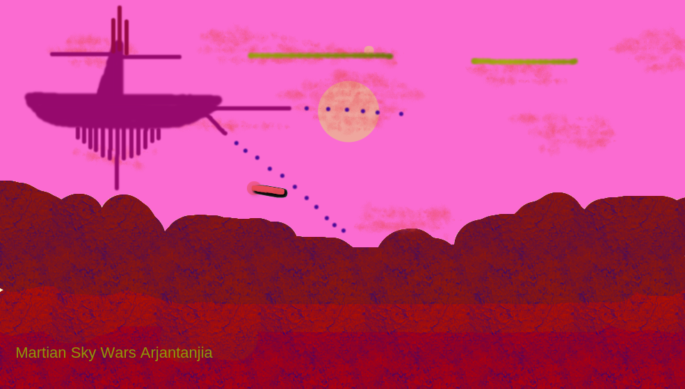 Martian Astronia Wars Copy by arjantanisia111