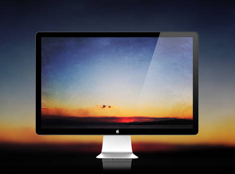 *artistic sunset
