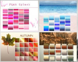 75 Photoshop Gradients by allaboutps